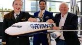 Ryanair anuncia 3.500 puestos de trabajo para 2017