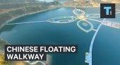 Pasarela flotante China