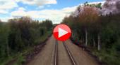 Viaje en tren cuatro estaciones