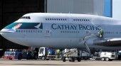 Avión de Cathay Pacific