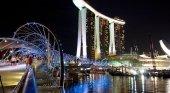El evento se celebra en el Marina Bay de Singapur