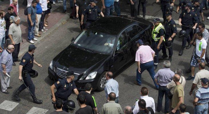 La guerra del sector del taxi se desata en Madrid