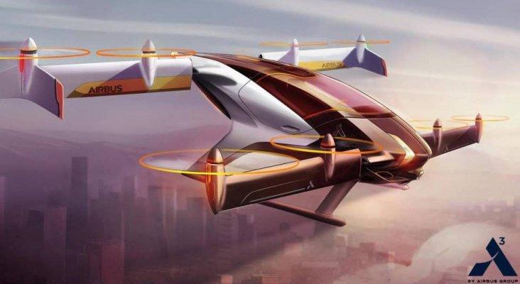Vahama, el coche volador de Airbus