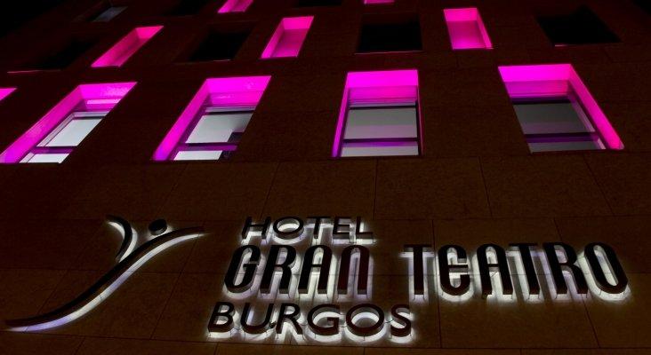 Fachada del Hotel Silken Gran Teatro Burgos