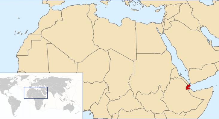 Yibuti está ubicado en un punto estratégico