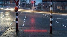 Holanda instalará luces de semáforo en el suelo