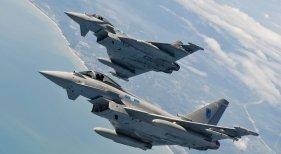 Eurofighters entraron en acción por un fallo de comunicación