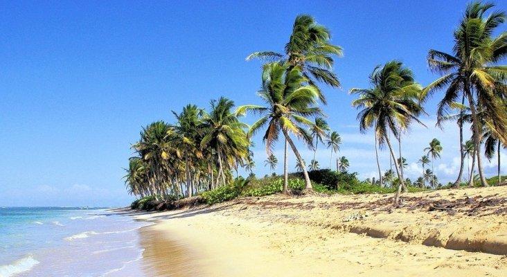 Playa en la República Dominicana