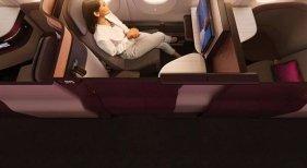 Qatar Airways deslumbra con su Business Class
