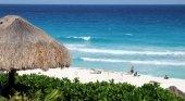 Playa en Cancun en Mexico