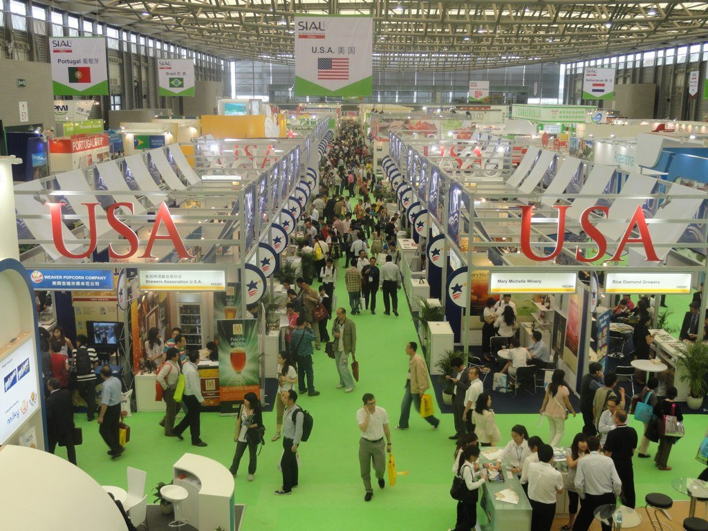 Estand de Estados Unidos en Sial China