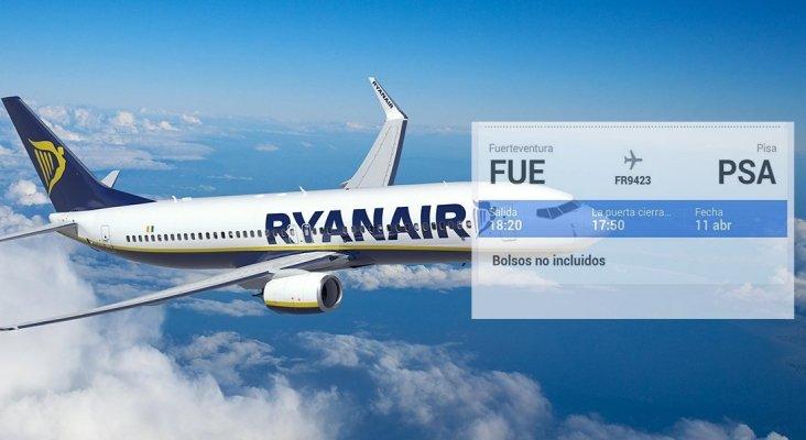 Ryanair Fuerteventura Pisa