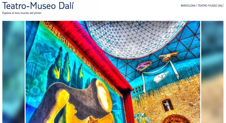"""Teatro-Museo Dalí de Girona en """"Barcelona"""""""