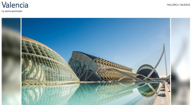 """La Ciudad de las Artes y de las Ciencias de Valencia en """"Mallorca"""""""