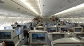 Business Class del A380 de Emirates