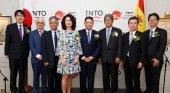 Autoridades en la Inauguracion de la Oficina JNTO en España