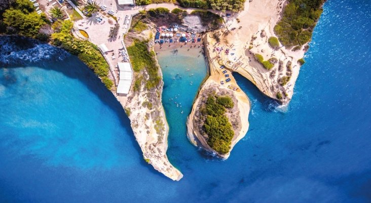 Love Canal (Sidari, Grecia)