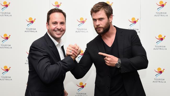 Chris Hemsworth, embajador de Turismo de Autralia