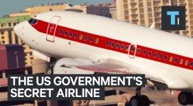 La aerolínea secreta del Gobierno de Estados Unidos