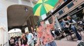 Los mallorquines proponen el 'carril guiri'