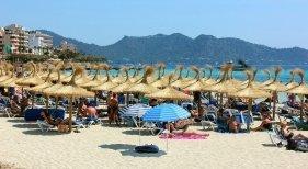 Turistas en Mallorca
