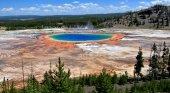 Un joven muere abrasado en un géiser de Yellowstone