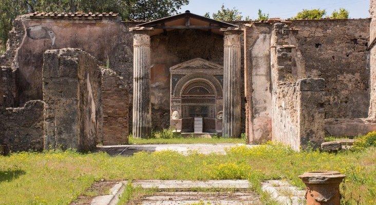 Detienen a un turista español por hacer sus necesidades en las Ruinas de Pompeya