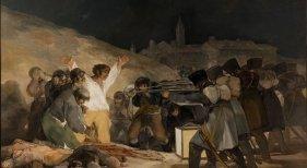 El tres de Mayo en Madrid. Cuadro de Francisco de Goya