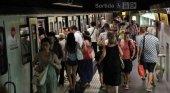 Las huelgas dinamitan el transporte urbano en Barcelona