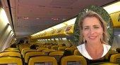 Montse Vidal-abarca revela su última complicación con la aerolínea