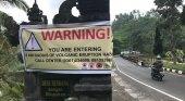 Advertencia ante la actividad sísmica en el Monte Agung