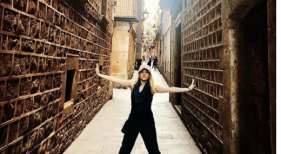 Katheryn Winnick en Barcelona