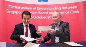 Thomas Cook firma acuerdo de colaboración con Singapur