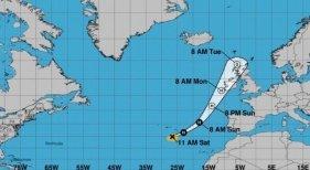 El huracán Ophelia amenaza Irlanda y Reino Unido