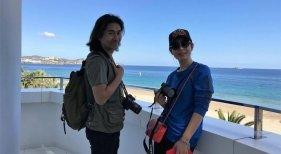 Los influencers Jin Yinan y Xu Tielong
