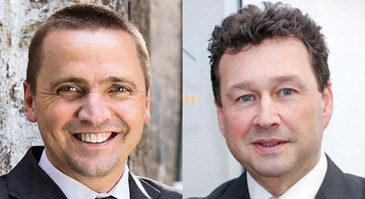 Thomas Bösl (izquierda) y Manuel Molina (derecha)