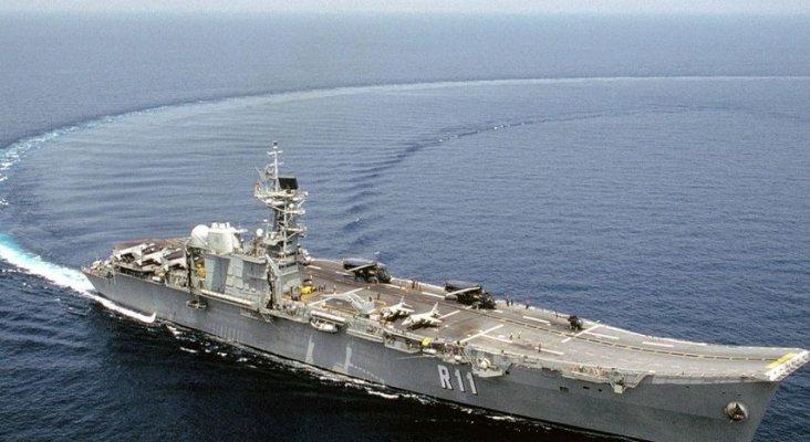 Subastan el portaaviones Príncipe de Asturias