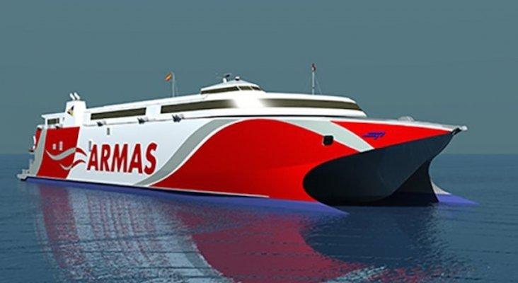 Alta tecnología en el nuevo ferry de Naviera Armas