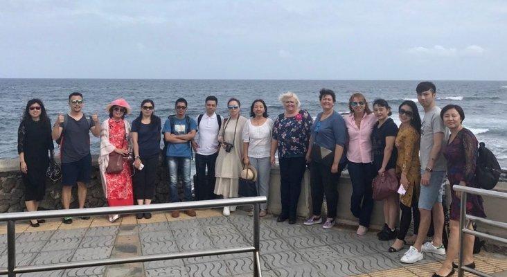 Agentes de viajes chinos en Gran Canaria