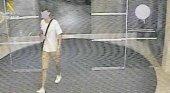 Imagánes del sospechoso captadas por una cámara de seuguridad
