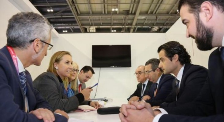 Reunión entre la Diputación de Alicante y TUI Polonia