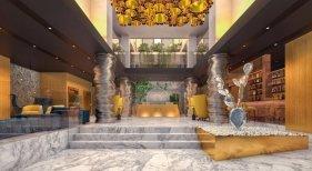 Recepción hotel BEX de Meeting Point en Gran Canaria