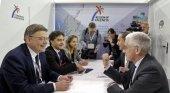 Delegación valenciana y responsables de Turespaña en la WTM London