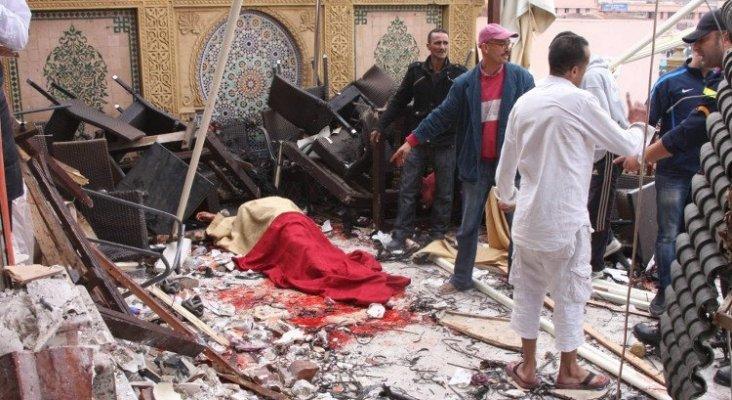 Atentado con bomba en un café de Marrakech