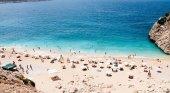 Playa en Antalya, Turquía