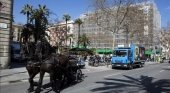 Barcelona pone fin a las carrozas de caballos