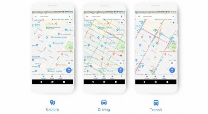 Google Maps cambia de imagen