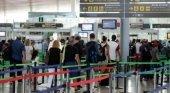 Control seguridad Aeropuerto El Prat