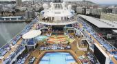 Un niño rescatado tras casi ahogarse en la piscina de un crucero de Royal Caribbean
