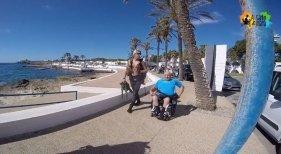 El aventurero Miguel Nonay bucea en Menorca
